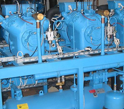 Монтаж трубопроводов для холодильных установок