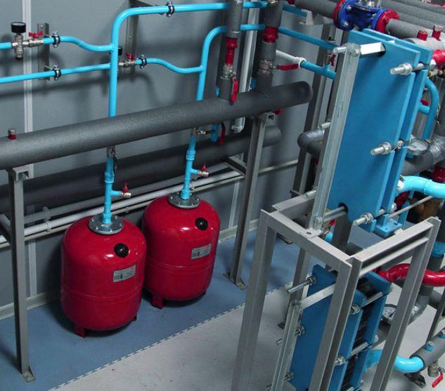 Монтаж закрытых систем отопления