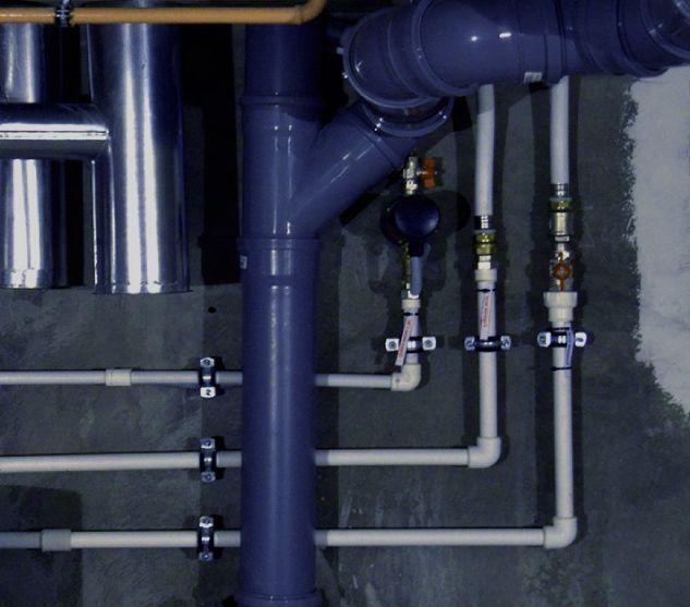 Монтаж системы горячего водоснабжения