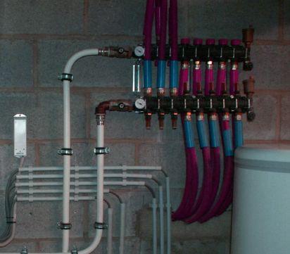 Монтаж водяного отопления